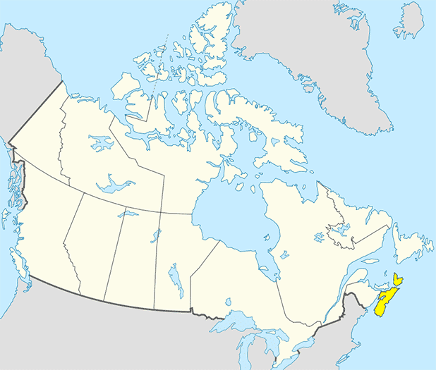 Map - Nova Scotia